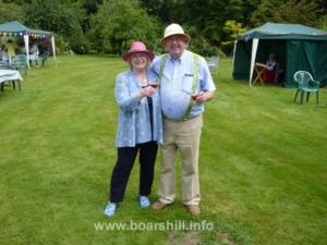 Hosts Nigel & Jane Jones